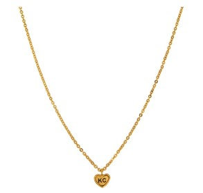 Gold KC Love Necklace