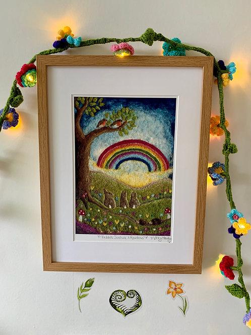 Rabbits, Sunshine & Rainbows