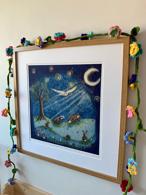 Framed Print - Goodnight Moon, Goodnight Stars