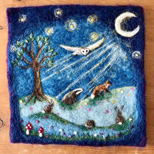 Goodnight Moon, Goodnight Stars - SOLD
