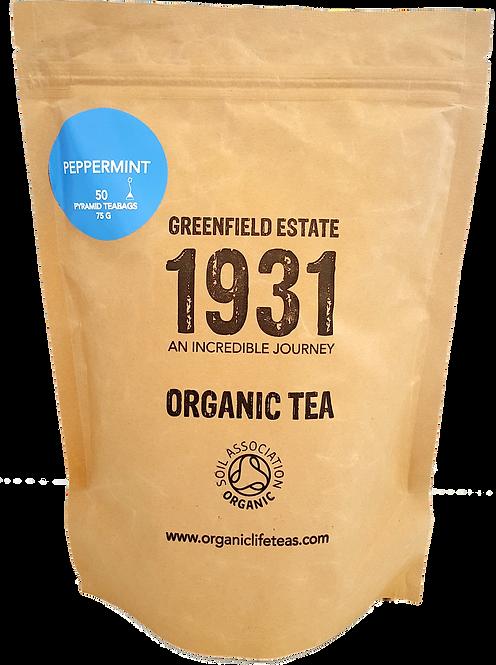 Peppermint - 50 pyramid tea bags