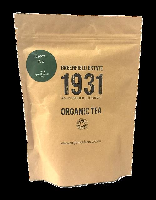 Green Gunpowder - 50 pyramid tea bags