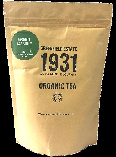 Green Jasmine - 50 pyramid tea bags