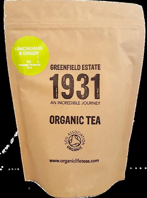 Lemongrass and Ginger - 50 pyramid tea bags