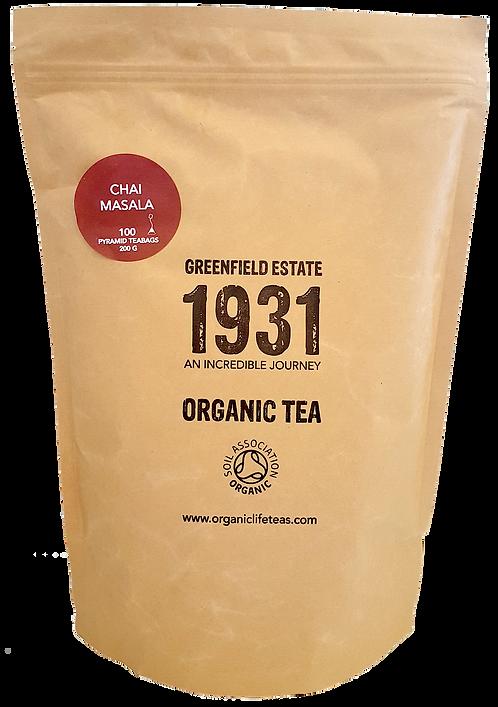 Chaï Masala -100 pyramid tea bags