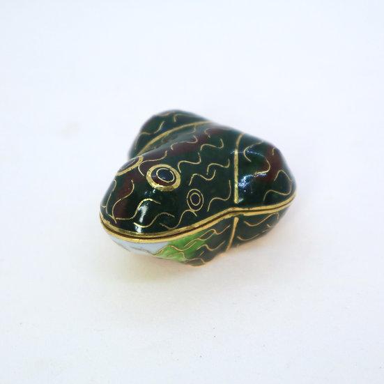 Vintage Tiny Frog Box