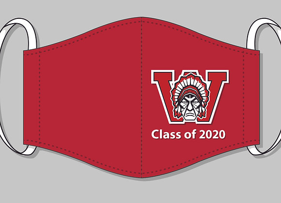 Class of 2020 Warrior Mask