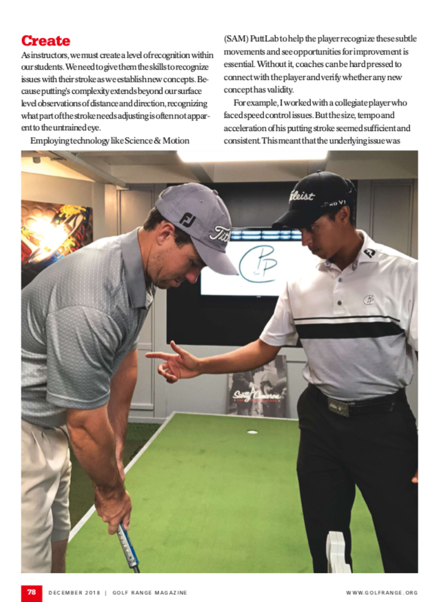 Golf Range Magazine