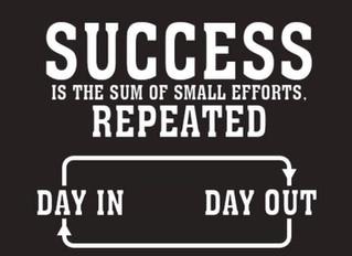 Success is the Sum...
