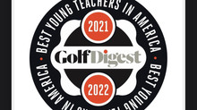 Golf Digest Best Young Teachers Award