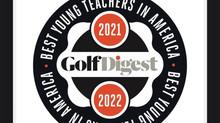 Golf Digest Best Young Teachers Award