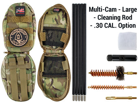Multi-Cam -Large - Cleaning Rod - .30 Ca