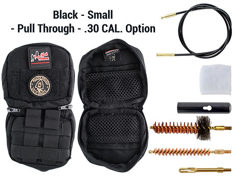 Black - Small - Pull Through - .30 Cal.