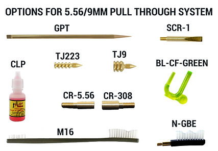 Options for 5.56-9MM Pull Through System