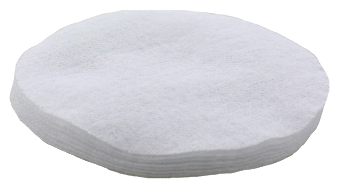 """.50 Cal. Cotton Flannel Cleaning Patches- 2.5"""" Round"""