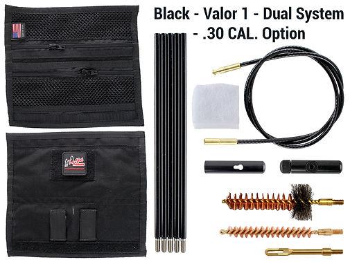 Black - Valor 1 - Dual System - .30 Cal.