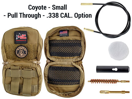 Coyote - Small - Pull Through - .338 Cal
