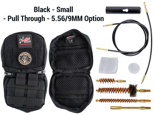 Black - Small - Pull Through - 5.56-9mm
