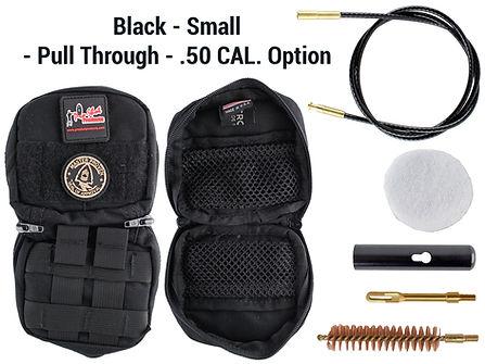 Black -Small - Pull Through - .50 Cal. O
