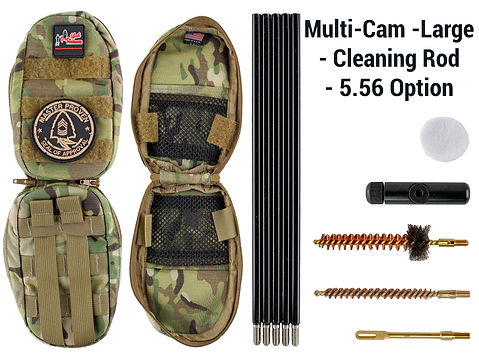 Multi-Cam -Large - Cleaning Rod - 5.56 O