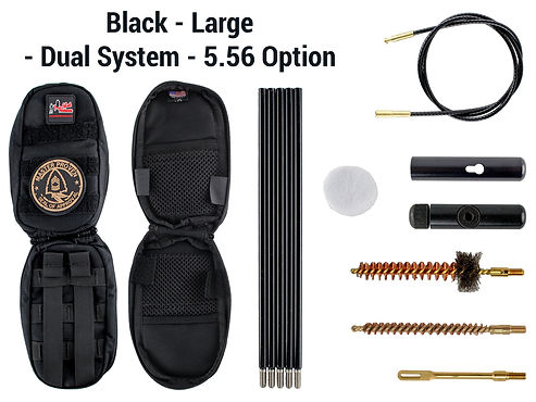 Black -Large - Dual System - 5.56 Option