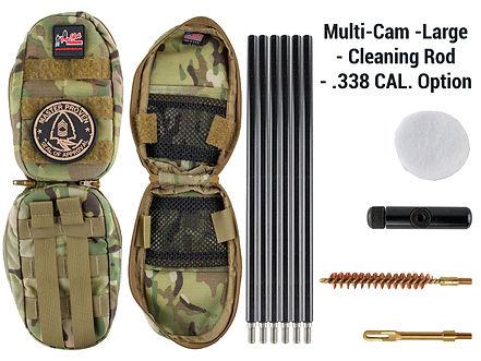 Multi-Cam -Large - Cleaning Rod - .338 C