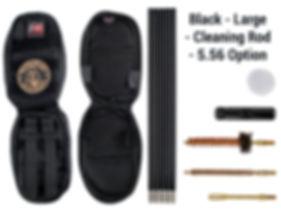 Black -Large - Cleaning Rod - 5.56 Optio