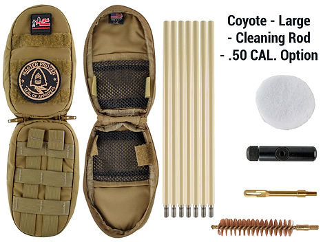 Coyote -Large - Cleaning Rod - .50 Cal.