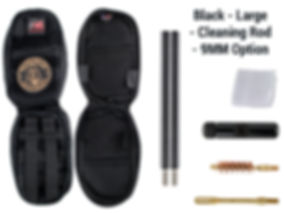 Black -Large - Cleaning Rod - 9MM Option