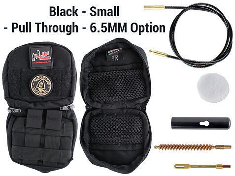 Black -Small - Pull Through - 6.5mm Opti