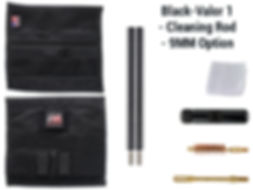 Black -Valor 1 - Cleaning Rod - 9mm Opti