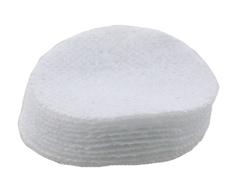 "5.56mm Cotton Flannel Cleaning Patches- 1"" Round"
