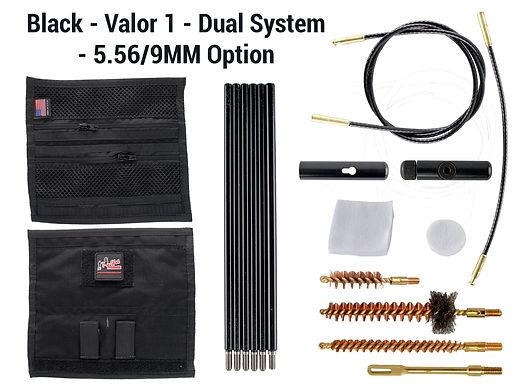 Black - Valor 1 - Dual System - 5.56-9mm