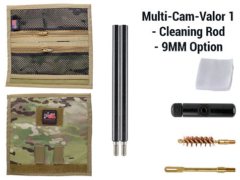 Multi-Cam -Valor 1 - Cleaning Rod - 9mm