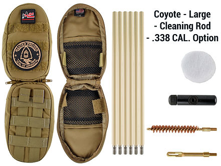 Coyote -Large - Cleaning Rod - .338 Cal.