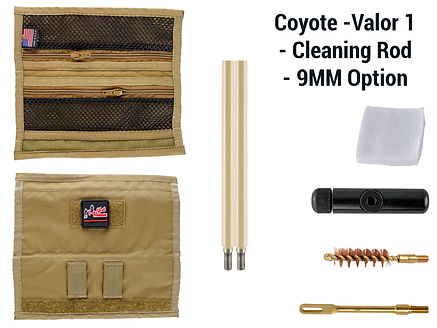 Coyote -Valor 1 - Cleaning Rod - 9mm Opt