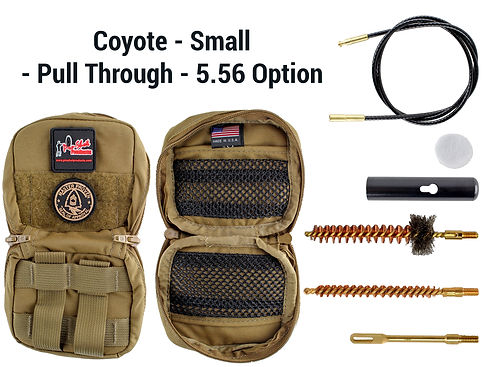 Coyote - Small - Pull Through - 5.56 Opt