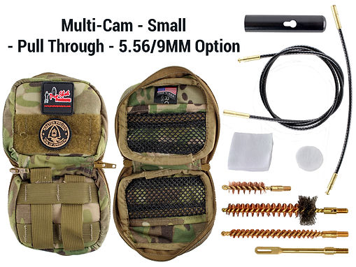 Multi-Cam - Small - Pull Through - 5.56-