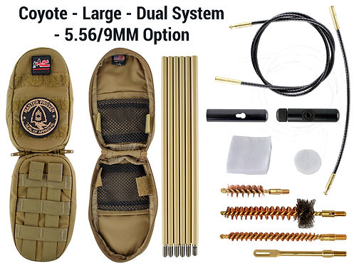 Coyote -Large - Dual System - 5.56-9mm O