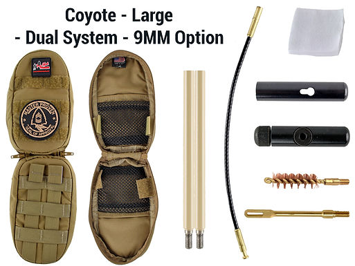 Coyote -Large - Dual System - 9MM Option