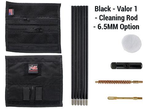 Black -Valor 1 - Cleaning Rod - 6.5MM Op