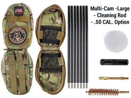 Multi-Cam -Large - Cleaning Rod - .50 Ca