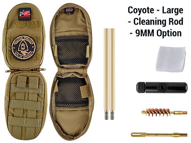 Coyote -Large - Cleaning Rod - 9MM Optio