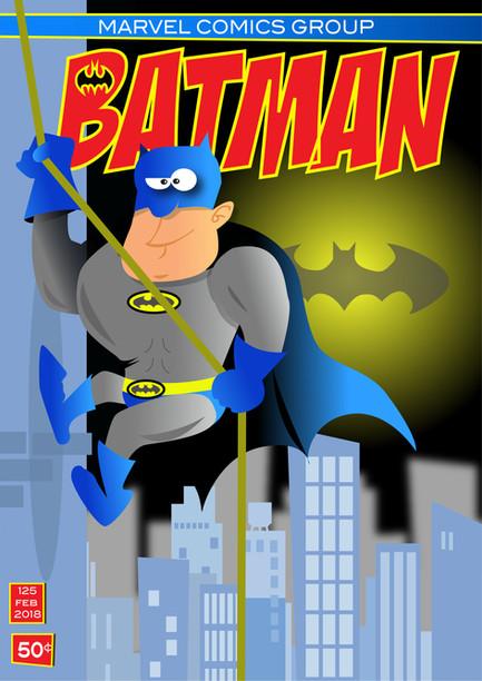Retro Batman Comic