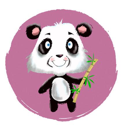 Panda Character Illustration