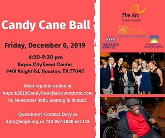 Candy Cane Ball