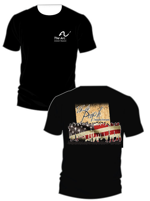 The Arc of Greater Houston We The People T-Shirt