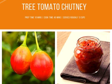 Tree Tomato Chutney | Tamalu's Weekly Recipe