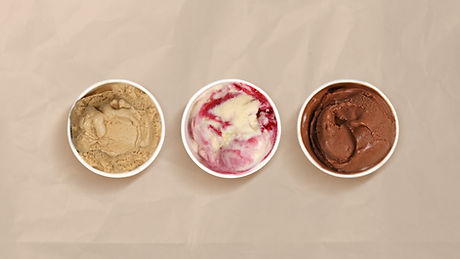 Three Flavours of Ice Cream