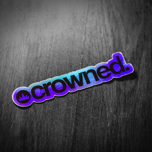 holographic 'crowned'.